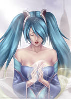 Sona - League of Legends by sasusaku-uchiha0718