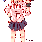 Pixelled Himeko Animated by Southrobin