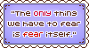 Stamp: Only Fear Itself by Southrobin