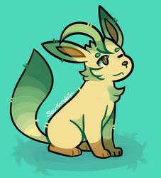 Let's Sit Leafeon! by Southrobin