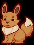 Fanart: Eevee Chibi by Southrobin