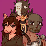 Comm: Piggy Trapper and Wraith Dbd by Southrobin