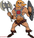 He-man with shield and ax