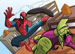 Spider-man vs Goblin