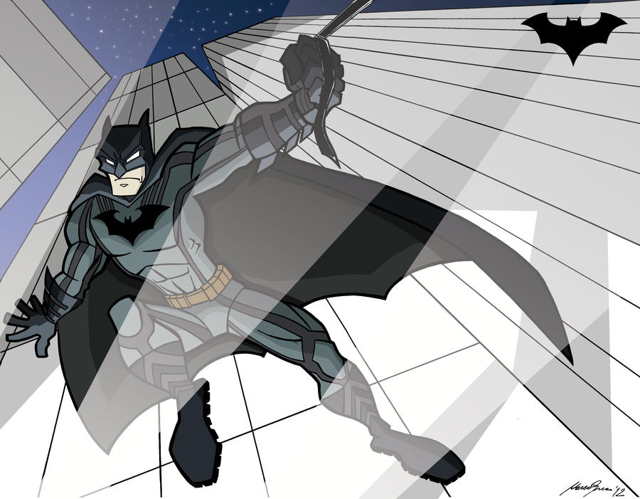 Batman color by Granamir30