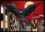 Batman and Gotham colors