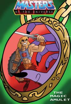 The magic amulet cover