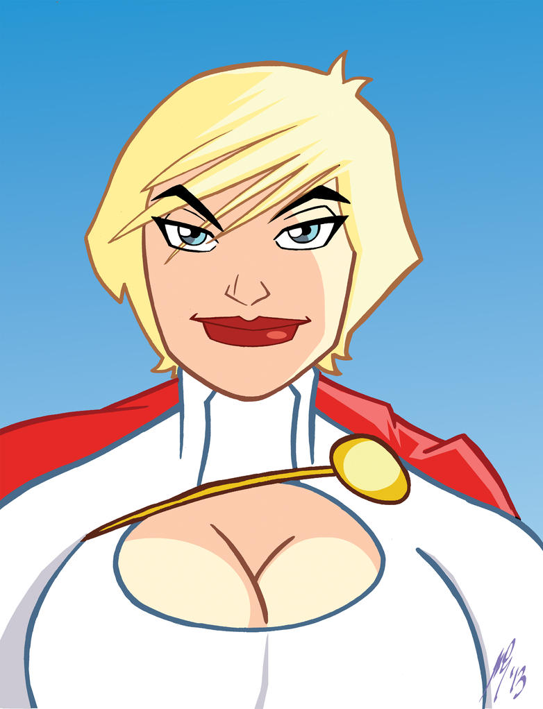 Powergirl by Granamir30