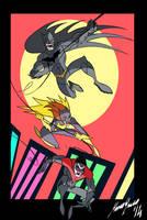 Bat-family by Granamir30