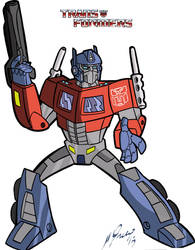Optimus Prime G1 by Granamir30