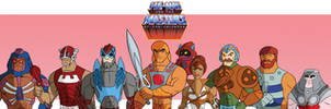 Masters of the universe team by Granamir30