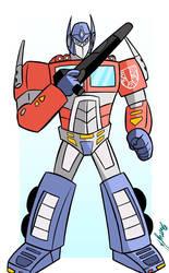 Optimus Prime Transformers G1 by Granamir30