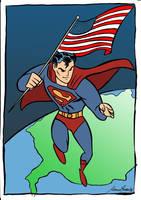 Superman 80th anniversary by Granamir30