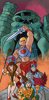 Masters of the universe by Granamir30