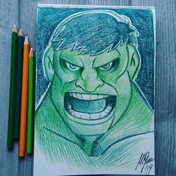 Hulk by Granamir30