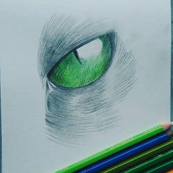 Cat eye by Granamir30