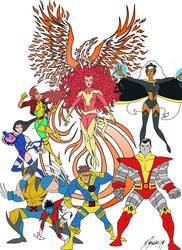 X-Men Dark Phoenix by Granamir30