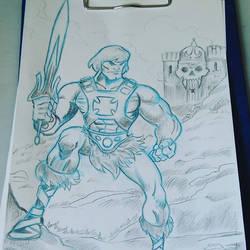 He-Man drawing by Granamir30