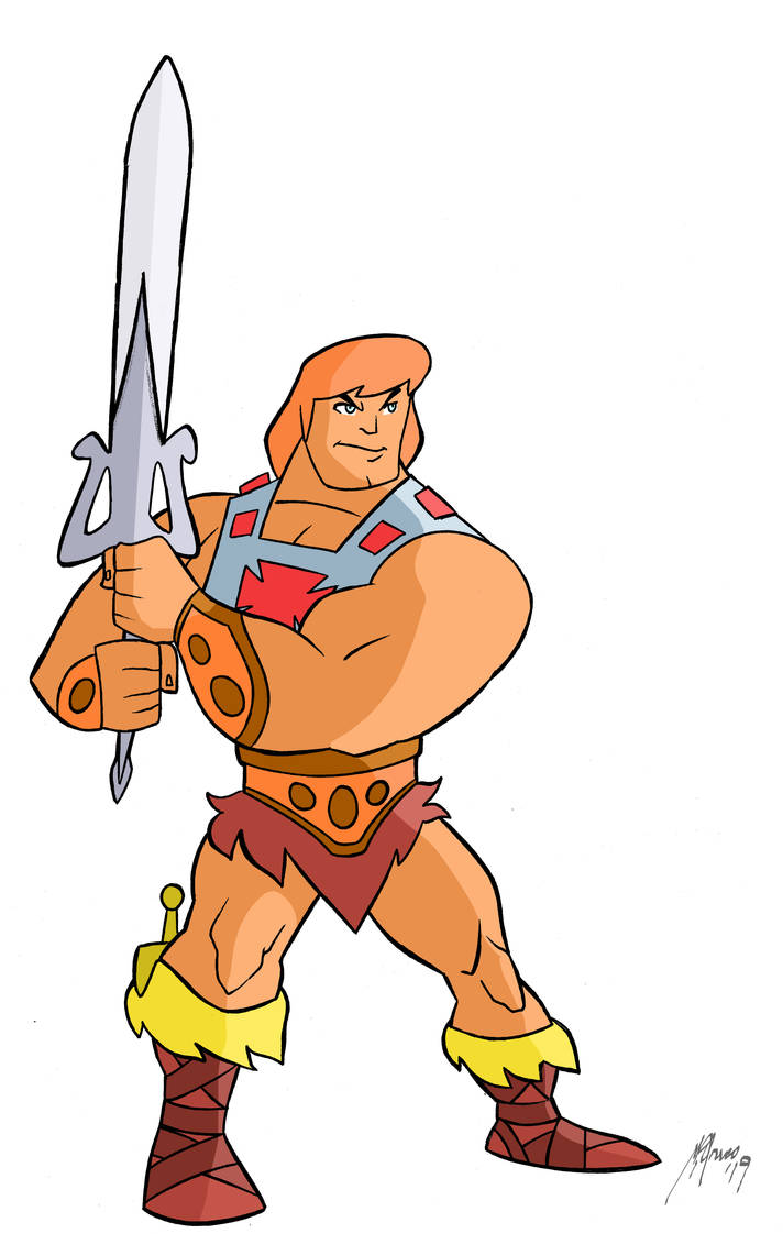 He-Man animated style by Granamir30