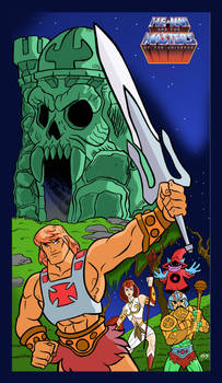 Masters of The universe animated
