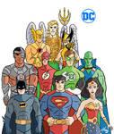 Justice League by Granamir30
