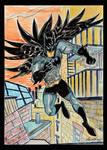 Batman the dark knight by Granamir30
