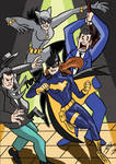 Batgirl Catwoman by Granamir30