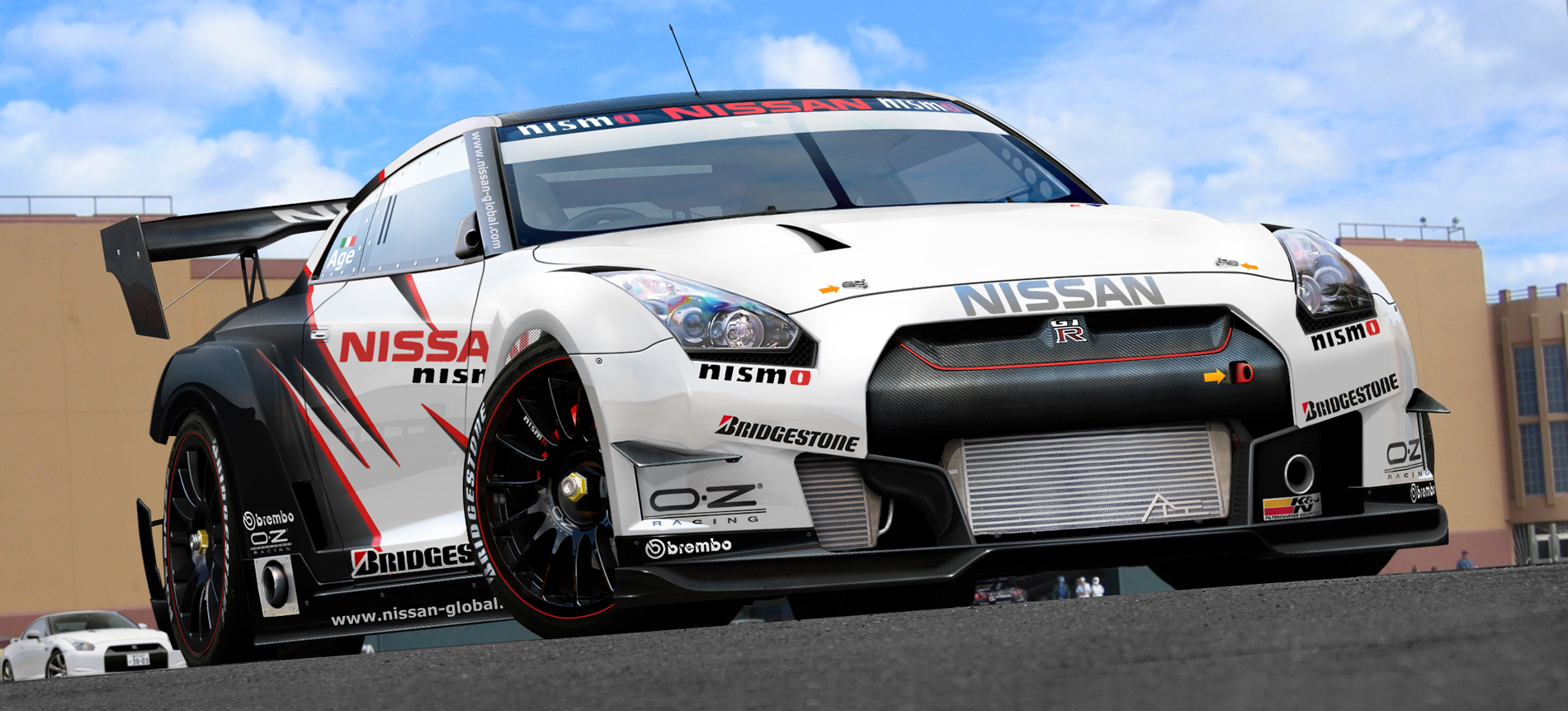 NISSAN GT-RR step II by agespoom