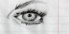 ImageThe eye of a women