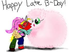 Fluffle puff surprise hug