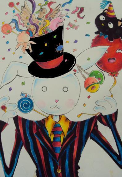 the magic rabbit by fashionstrawberry