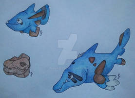 Ichthyosaur Fossil Pokemon