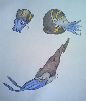 Cephalopod Pokemon