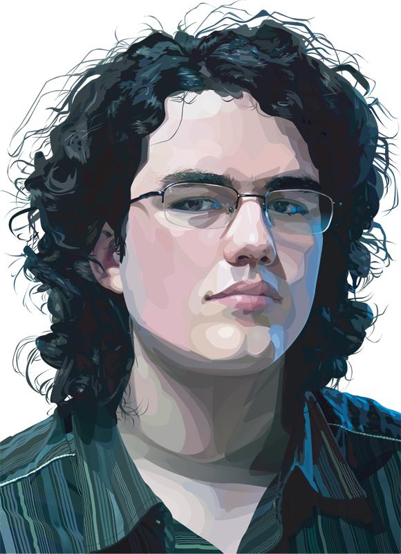 20 Beautiful Vector Portraits