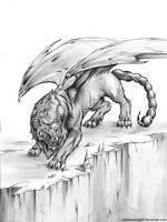 Manticore by LadyInsomnia22