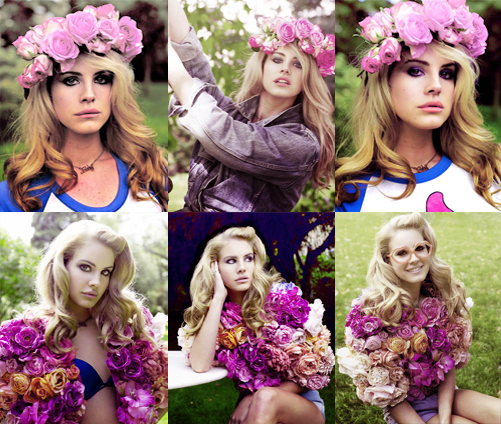 The gallery for --> Flower Crown Lana Del Rey Video Games