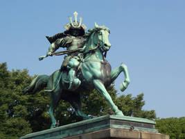 Samurai Statue by jumomo