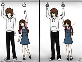 Minicomic- Jeff and Sally by CamyWilliams9
