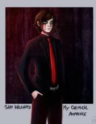 - Sam Williams as Gerard Way! - by CamyWilliams9