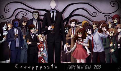 - Creepypastas - Happy New Year 2019! - by CamyWilliams9