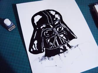 Ink Vader by vichoverde