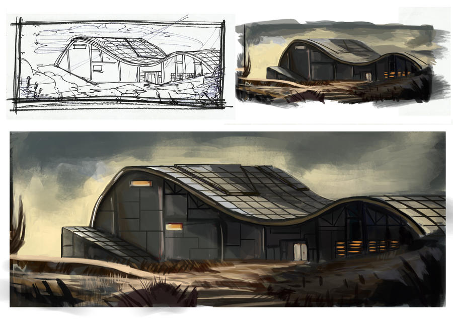 Architecture Design 2 by fercastz