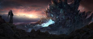 Fantasy Landscape Matte Painting