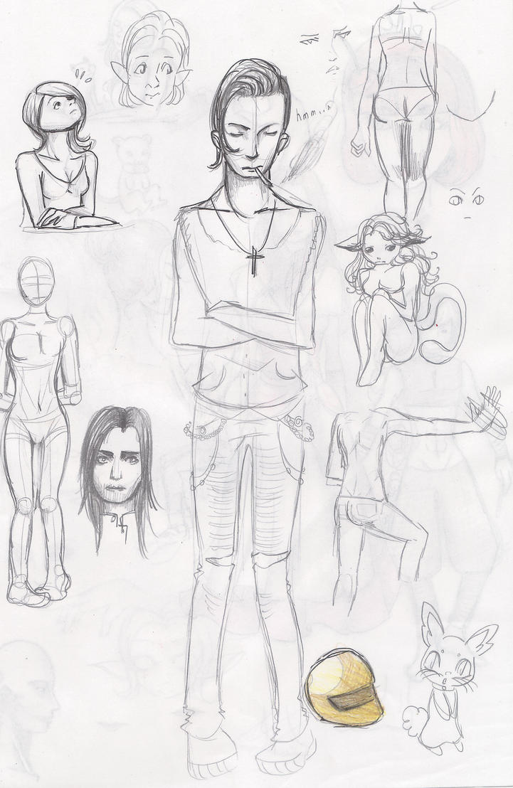 Sketch nanana 2 by PokeLyria