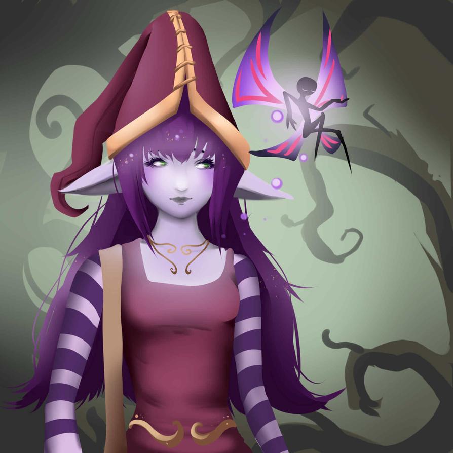 Lulu Adults - League of Legends by PokeLyria