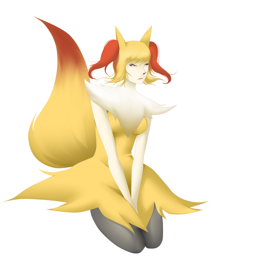 Braixen by PokeLyria