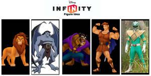 Disney Infinity: Character Wishlist