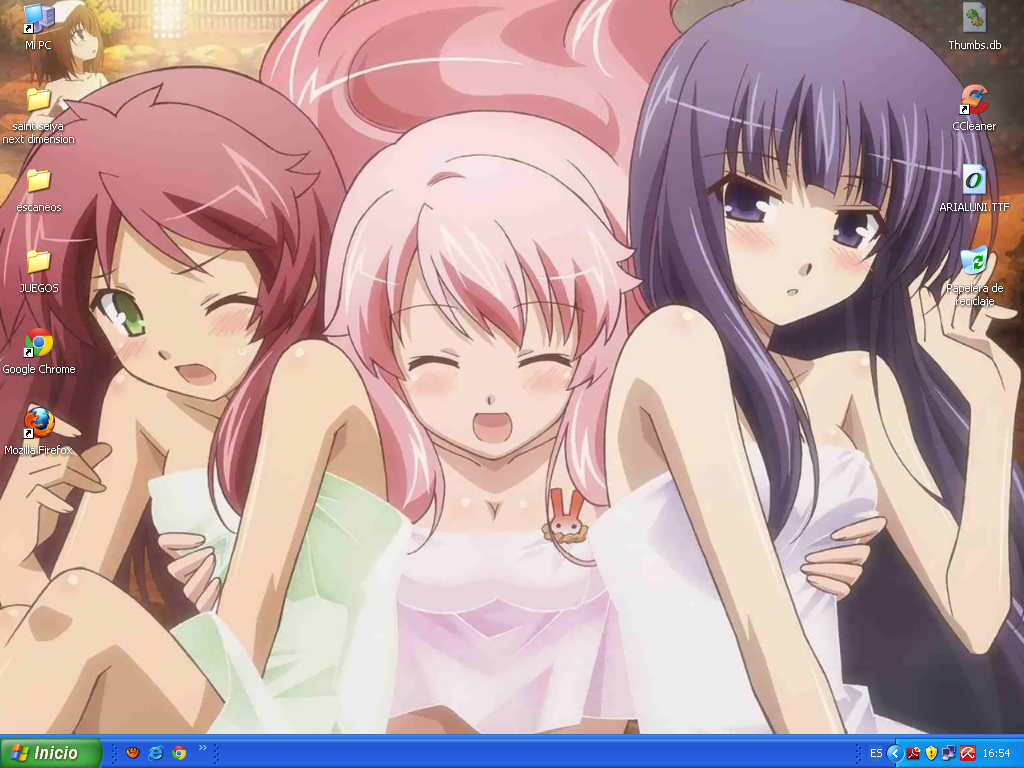 Baka test girls desktop by akakit