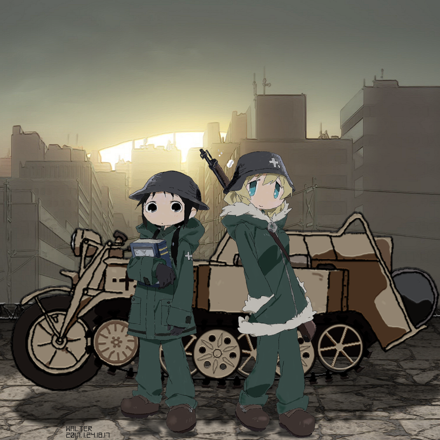 Girls Last Tour Anime Reddit