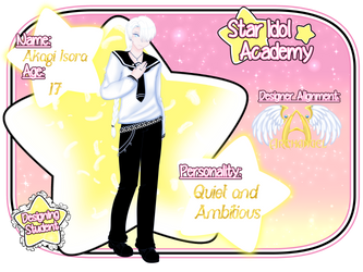 [Star Idol Academy] Akagi Isora by FruityLoopyDoop